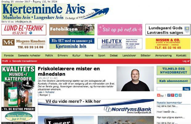 I morgen får avisen sin nye hjemmeside
