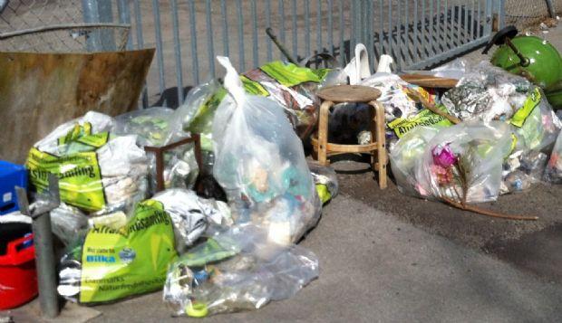Klar til den årlige affaldsindsamling i og omkring Mesinge
