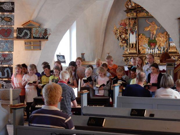 Festdag i Dalby Kirke