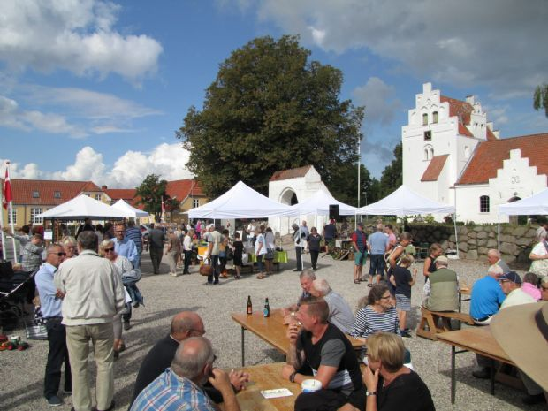 Hindsholm Høstmarked blev igen et tilløbsstykke
